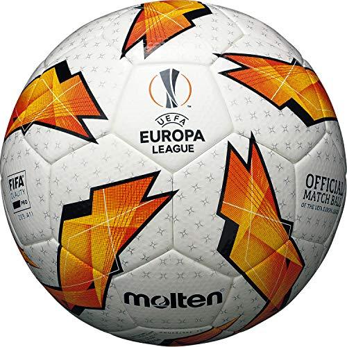 Molten The UEFA - Balón Oficial de la Liga de Europa, Color Naranja, Talla 5