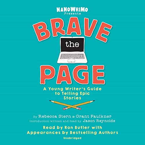 Brave the Page audiobook cover art
