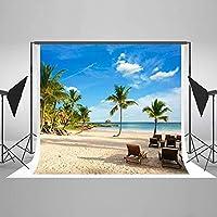 NEW16在庫あり-7ft(W)x5ft(H)ビーチ写真の背景熱帯の写真の背景夏の写真の背景スタジオのシーンの小道具