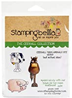 Stamping Bella Cling Stamps-Oddball Farm Animals