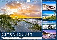 STRANDLUST: Fischland-Darss-Zingst (Wandkalender 2022 DIN A4 quer): Malerische Bilder von der Halbinsel Fischland-Darss-Zingst (Monatskalender, 14 Seiten )