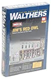 Walthers Cornerstone 1/87 ho : Magasin d'alimentation -Jim's Red Owl - Kit