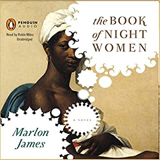 The Book of Night Women audiobook cover art
