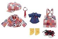 きのこプラネット「なまいき☆スクールボーイセット」 レッドマルチチェック KIKIPOP!シリーズ KPT002-RED ドール服