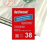 1 Staubfilterbeutel (zum Testen) geeignet für Vorwerk Tiger 251 / VT251 Staubsauger - dustwave Markenstaubbeutel/Made in Germany + inkl. Microfilter