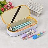 JJ-SHOP Estuches para lápices - Organizador Creativo de Caja de lápices de Cuero Kawaii para lápices, Estuche para lápices de Colores con Almacenamiento de Transporte para Escritorio, niñas