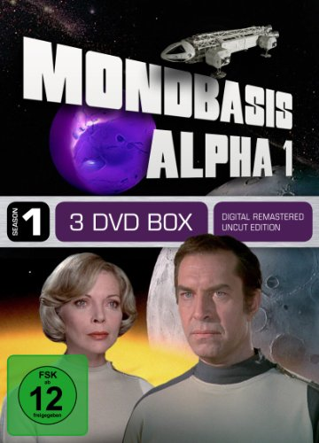 Mondbasis Alpha 1 - Season 1 (Uncut, Vol.1-3, Folge 1-12) [3 DVDs]