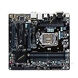 BEROVE Fit for Gigabyte Z170M-D3H Z170 Z170M-D3H Z170 LGA 1151 DDR4 64G USB3.1 Placa Base de Escritorio para Juegos Pc