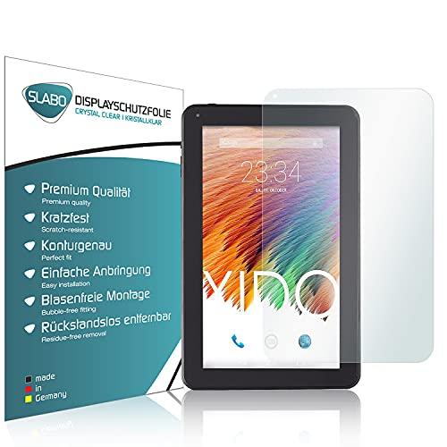 Slabo 2 x Bildschirmschutzfolie für XIDO X110 Bildschirmschutz Schutzfolie Folie Crystal Clear KLAR