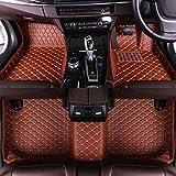Alfombrillas De Suelo Personalizadas Para Range Rover Evoque 2009-2014 Revestimiento De Suelo Completamente Rodeado Impermeable A Prueba De Agua Ajuste Antideslizante Alfombrilla Delantera MarróN
