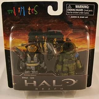 Halo Minimates Mini Figure 2Pack Emile Jun