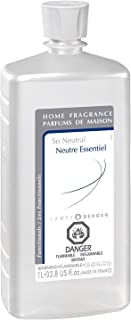 So Neutral   Lampe Berger Fragrance Refill for Home Fragrance Oil Diffuser   Purifying and perfuming Your Home   33.8 Fluid Ounces - 1 Liter   Made in France