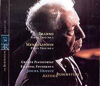 Rubinstein Collection, Vol. 24: Mendelssohn: Piano Trio, Op. 49; Brahms: Piano Trio, Op. 8 (2002-02-11)