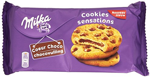 Milka Kekse Sensation mit Schokoladenfüllung 182g.