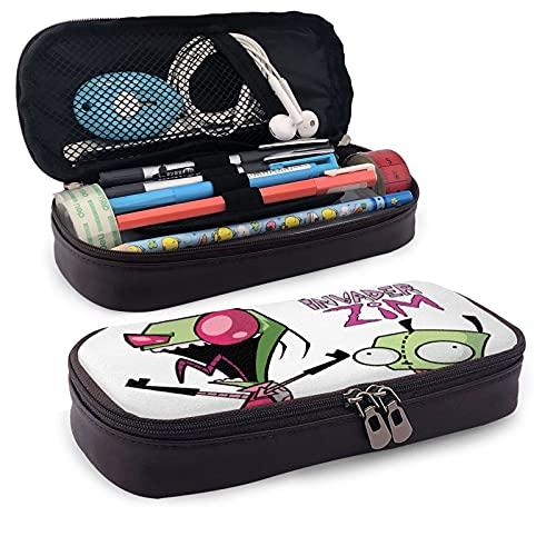 in-va-der Z-im - Estuche para lápices de gran capacidad, organizador con compartimentos con cremallera, regalos para profesores, mujeres, estudiantes, oficina, universidad, suministros escolares