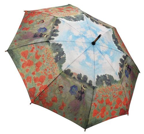 GALLERIA ENTERPRISES, INC. Poppy Field Stick Umbrella