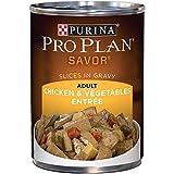 Purina Pro Plan Gravy Wet Dog Food, SAVOR Slices in Gravy Chicken & Vegetables Entree - (1...