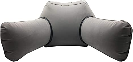 Asboto Reading Pillow - Lumber Support Back Cushion, Back Support Pillow, Inflatable Reading Pillow