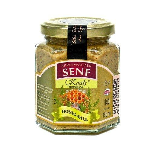 Koals Spreewälder Honig-Dill Senf (158 ml)