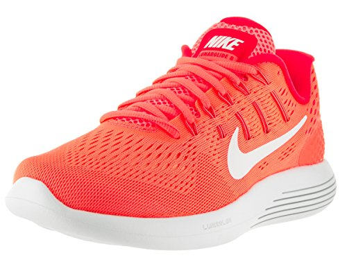 Nike Womens Lunarglide 8 Bright Mango/White Brght Crmsn Running Shoe 7 Women US