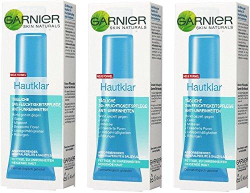 Crema hidratante facial de Garnier 24 anti