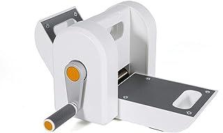 YiWon Mini machine à gaufrer pour la maison ou le scrapbooking - Blanc