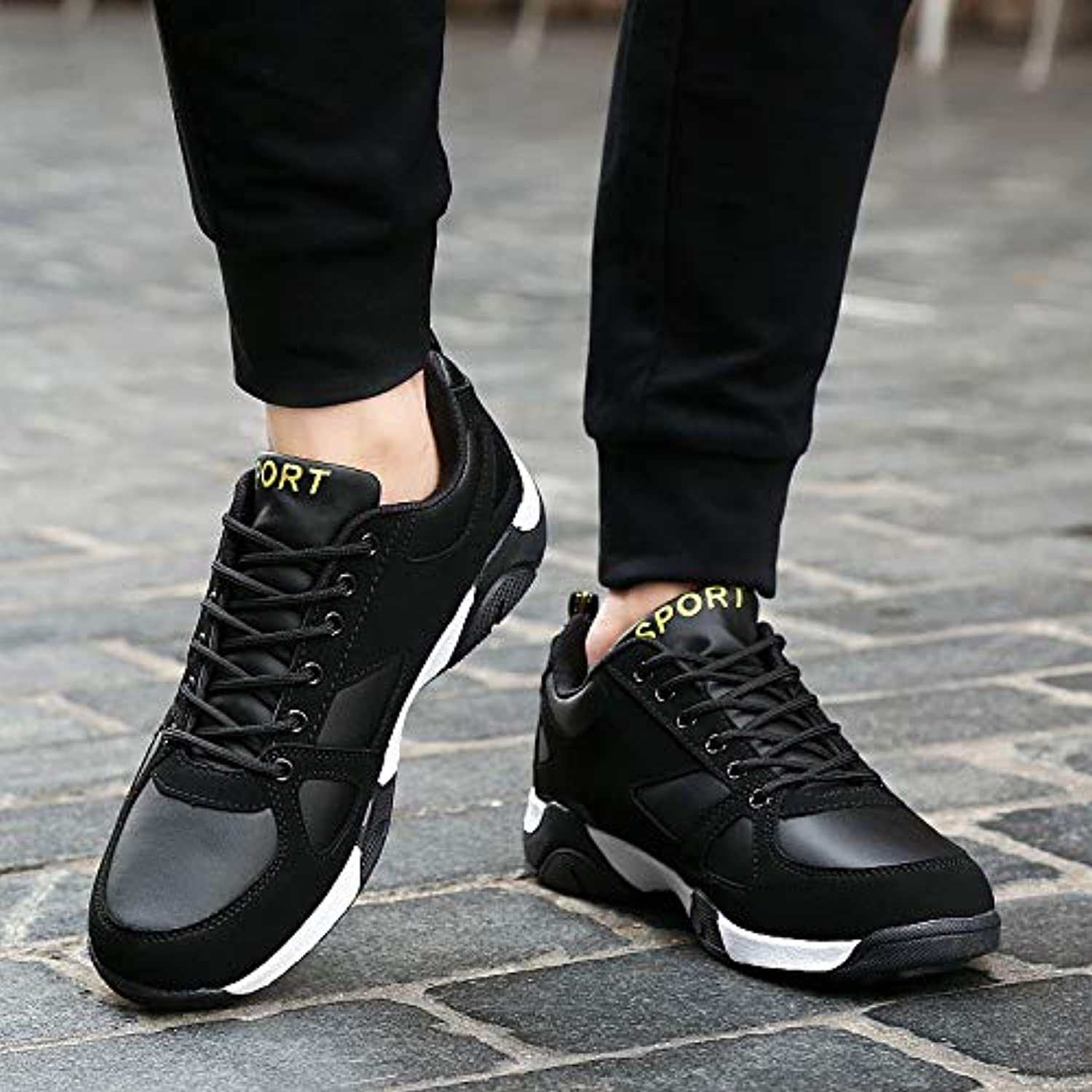 LOVDRAM Men's shoes New Spring And Autumn Winter Casual Sports shoes Men'S Travel Running Leather Men'S shoes 36-45 Yards