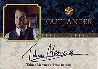 Outlander Season 2 Autograph Card TM2 Tobias Menzies as Frank Randall