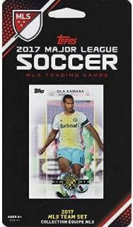 2017 Topps MLS Columbus Crew SC Team Set of 7 Cards: Justin Meram(F), Niko Hansen(F), Federico Higua