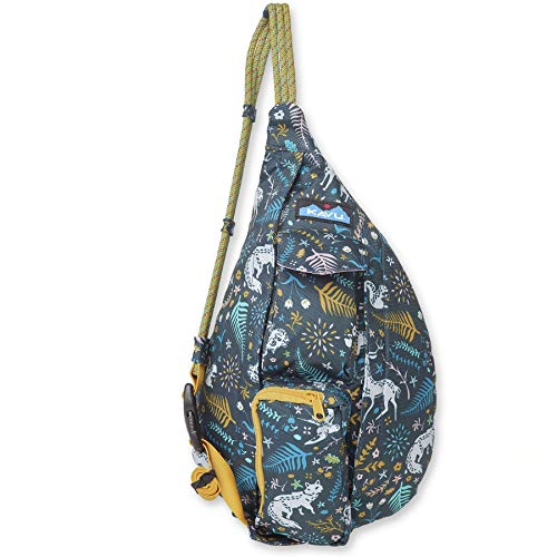 KAVU Mini Rope Sling Crossbody Bag - Fairy Trail