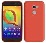 TBOC® Rot Gel TPU Hülle für Vodafone Smart N8 (5.0 Zoll) Superdünn Flexibel Silikonhülle