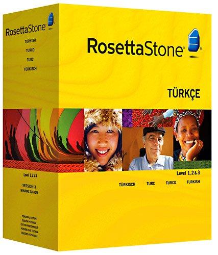 Rosetta Stone : Turc Niveau 1, 2 & 3 avec Audio Companion