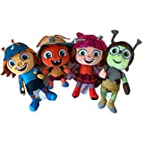fangzhuo Juguete de peluche4pcs / Set New Stuffed Beat Bugs Peluches Muñecas Pleches Juguetes para Niños