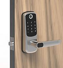 Keyless Smart Lock 5 in 1 Keyless Entry Open door Card, Code, Key APP, Anti-gluren Code, Semiconductor vingerafdruk slot, ...