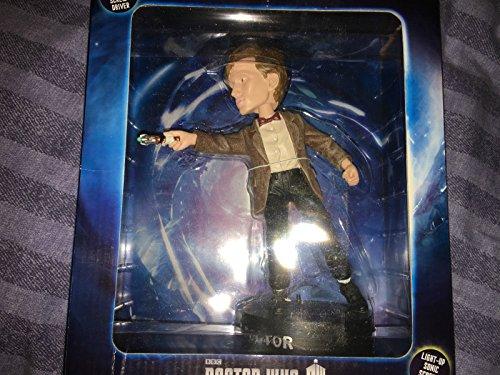 Doctor Who 11th Doctor Bobble cabeza con figura de destornillador sonic iluminada