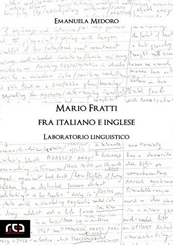 Mario Fratti fra italiano e inglese: Laboratorio linguistico (Contemporanea Vol. 16)