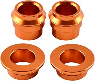 Nathan-Ng - Aluminum Front Rear Wheel Spacers Hub Collars For KTM SX SXF 125 250 350 450 2015 Motocross Enduro Supermoto