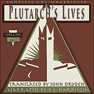 Plutarch's Lives, Volume 1 of 2 cover art