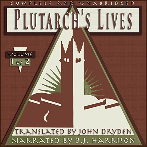 Plutarch's Lives, Volume 1 of 2 audiobook cover art