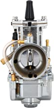 JFG RACING - Carburador para Motocicleta PWK 34 mm para Keihin Koso OKO Honda Yamaha Suzuki Kawasaki K.T.M gy6 125 CC 150 CC 170 CC 200 CC 250 CC 300 CC 2T 4T – Cromado