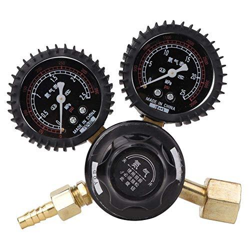 BJLWTQ Regulador de nitrógeno, medidor de presión de nitrógeno industrial, 40 m³ / h Medidor de regulador de soldadura Medidor reductor de presión de nitrógeno