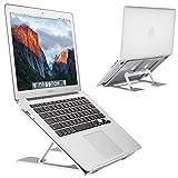 EC Technology Laptop Ständer, Ergonomisch LaptopStänder Multi-Angle Einstellbare Aluminium Laptop...