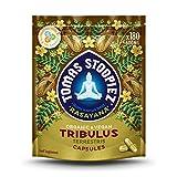 Organic Tribulus Terrestris Capsules | High Strength Testosterone Booster 1200mg | 180 Vegan Capsules (3 Months Supply) | Food Supplement | Rasayana Range | Tomas Stoopiez | Rishi Knows Best!