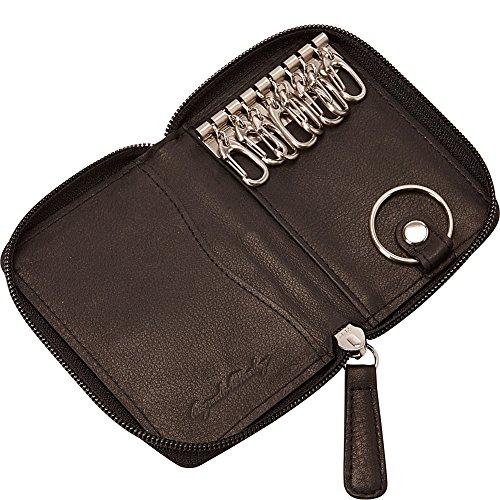 Osgoode Marley Eight Hook Zip Key Case with Valet (Black) Photo #2