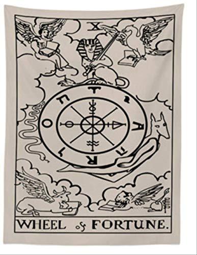 ditiao wandtapijt, tapijt, tapijt, Mandala, India, Wall Psychedelic Carpet, wandtapijt, hekwerk wandbehang (maat: 130 x 150 cm)