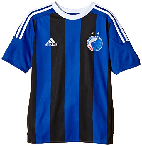 adidas Kinder Trikot FC Copenhagen Auswärts, Power Blue/Black/White, 176