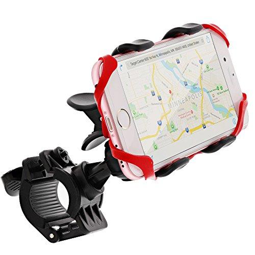 Bike Mount, GreatShield Clip-Grip [2017 Upgrade - Elastic Secure Strap] Handlebar Bicycle Mount Holder for iPhone X (10/Ten)/8Plus/8, Galaxy S8 Plus/S7 Edge/Note 8, LG G6/V20, Google Pixel 2 XL & More