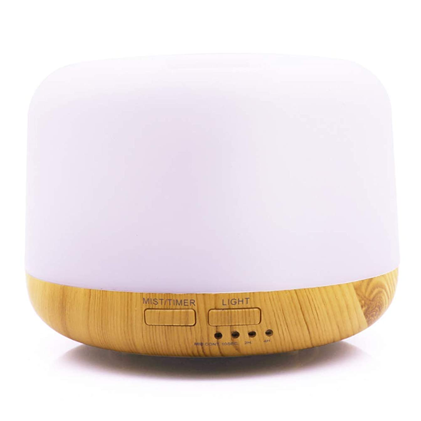 超音波カラフルなライトアロマテラピーマシンLED照明パンの加湿器ホームオフィスの美しさ,Natural