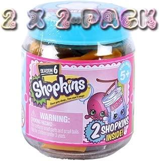 Shopkins Season 6 Chef Club, 2 X 2-Pack (4 figures)