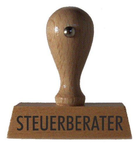 Lagerstempel STEUERBERATER vom Kaufhaus2010